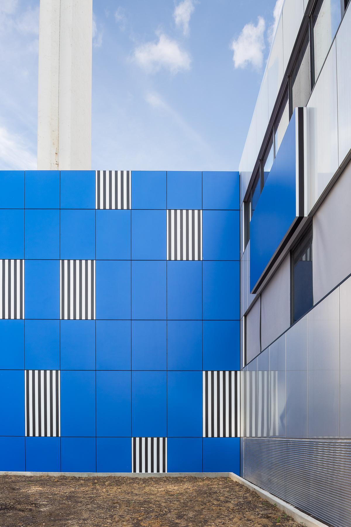 photographie d'architecture d'un hôtel à Paris