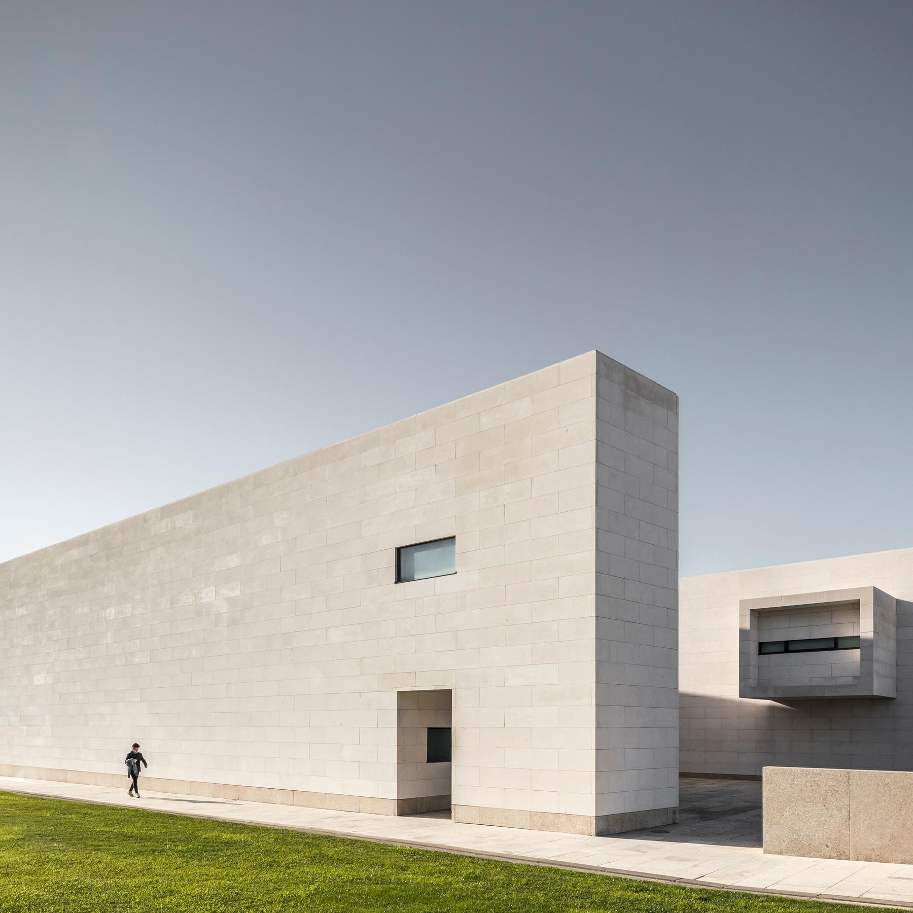 photographie d'architecture d'un musée au Portugal
