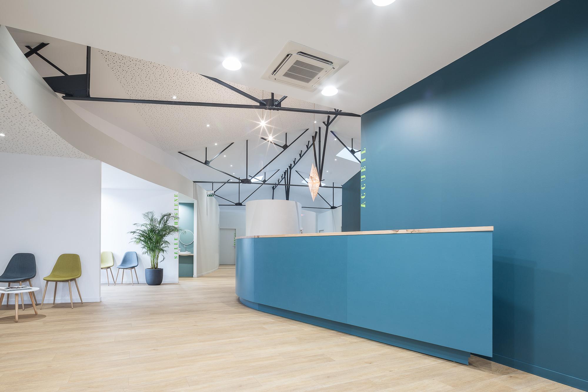 photographie d'architecture d'un cabinet médical à Troyes