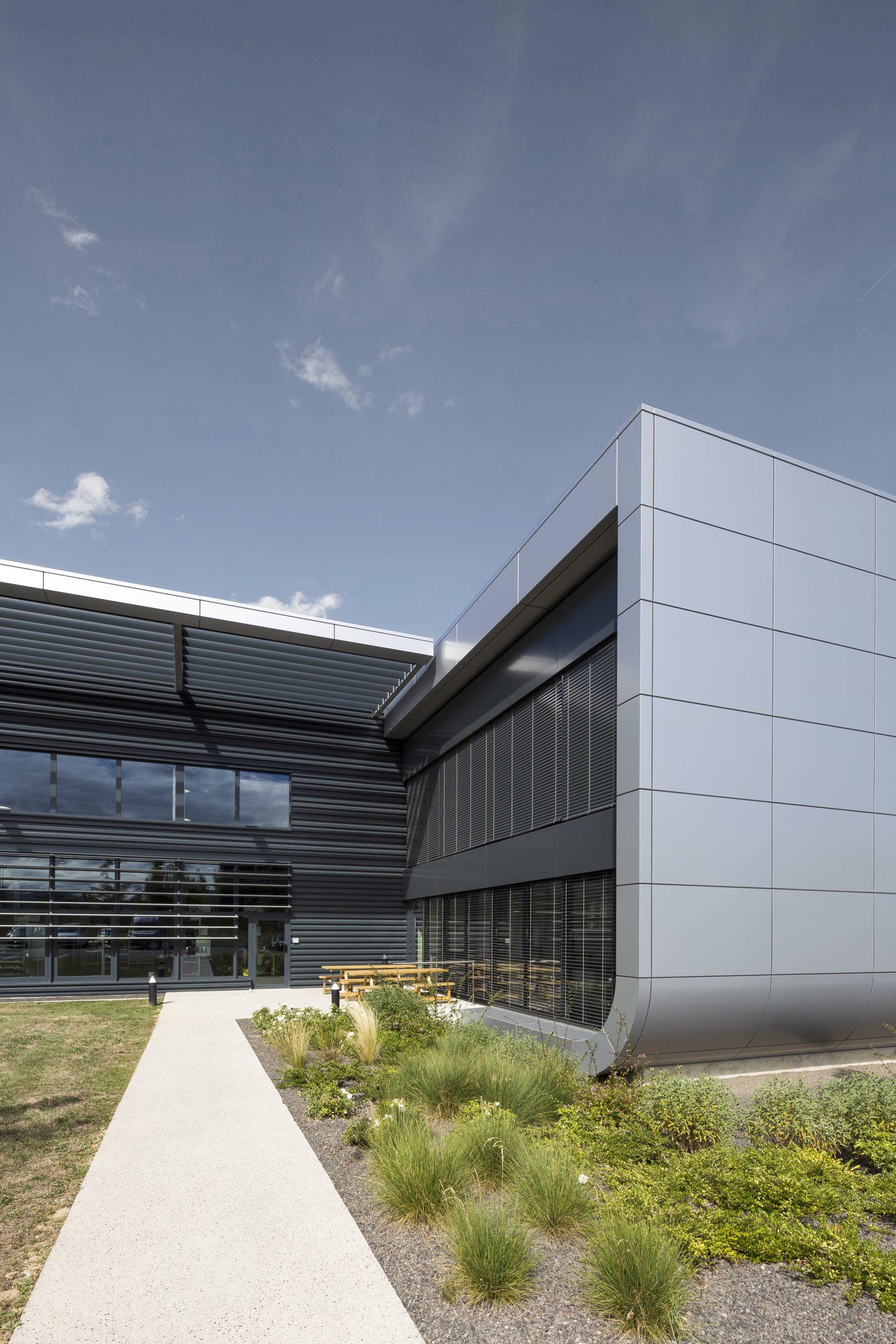 photographie d'architecture d'un site industriel à Grenoble